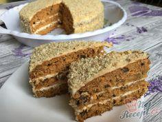 Mrkvový dort ZAJÍČEK | NejRecept.cz Carrot Cake, Recipe Box, Banana Bread, Carrots, Smoothies, Food And Drink, Treats, Cheesecake, Baking
