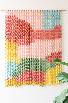 Paper Chain Wall Hanging – The House That Lars Built Atemberaubende Papierkette Wandbehang Diy And Crafts, Crafts For Kids, Arts And Crafts, Papier Diy, Paper Chains, Art Diy, Collaborative Art, Diy Décoration, Crafty Craft