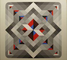 IKOS II - Painting, 122x122 cm ©2012 by Marko SPALATIN - IKOS II -
