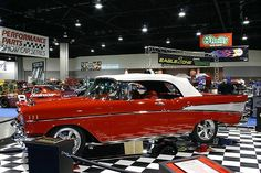 '57 Chevy Bel Air Convertible. Been in love with this car for as long as I can remember.