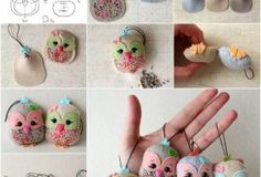 How to DIY Adorable Felted Owl