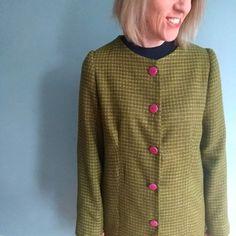 Chloe Coat   Sew Over It Jenny Johnson, Sew Over It, Coat Pattern Sewing, Online Tutorials, Pdf Patterns, Chloe, Stylish, Clothing, How To Make