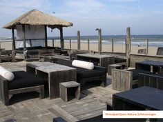 Roofterrace inspiration: furniture @Margot Thomas nature scheveningen