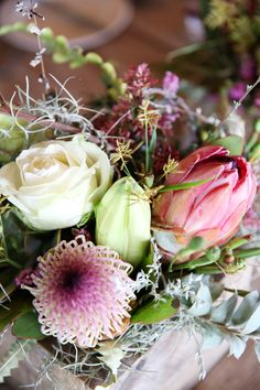 Proteas, indigenous inspired close up detail Got Married, Getting Married, Floral Design, Wedding Day, Inspired, Detail, Plants, Inspiration, Beautiful
