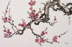 RP: Chinese Oriental Art - Cherry Blossom