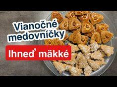 Vianočné Medovníčky Hneď Mäkké - YouTube Christmas Sweets, Cereal, Baking, Breakfast, Food, Youtube, Morning Coffee, Bakken, Essen