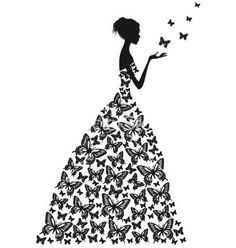 Butterfly woman vector 1298444 - by amourfou on VectorStock® I think you have to subscribe to this site to get the images: