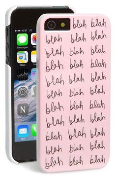 The BAN.DO 'Blah Blah Blah' iPhone 5 & 5s Case is a great gift idea for your teen!