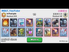 Legendary Arena 8 (Rank 8) vs MOLT_Youtube (Rank 13) played on 30.03.2016