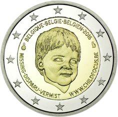 2 Euro CuNi Child Focus PP