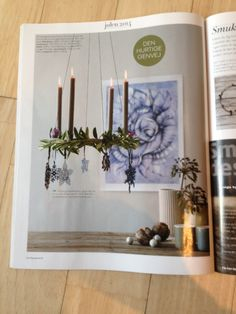 Place de Bleu, Christmas Decorations in danish magazine Boligmagasinet, nov 2014