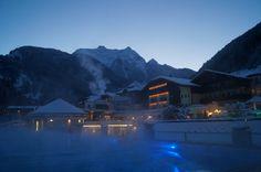 Wonderful winter evening in #Zillertal - Austria #STOCK*****resort in Finkenberg/Tirol www.sporthotel-stock.at
