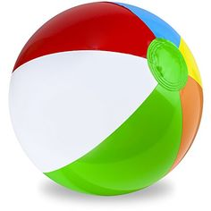 Sol Coastal Jumbo 6Color Inflatable Beach Ball 36inch *** Click image for more details.Note:It is affiliate link to Amazon.