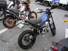 Yamaha Tricker - exhaust
