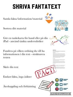 Swedish Language, Teaching Materials, Study Tips, Back To School, Communication, Writing, Education, Math, Learning