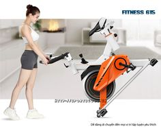 Xe đạp tập phòng gym Fitness 615