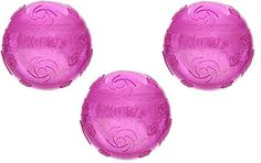 (3 Pack) KONG Squeezz Crackle Ball, Large Assorted Colors ** Check out the image by visiting the link.