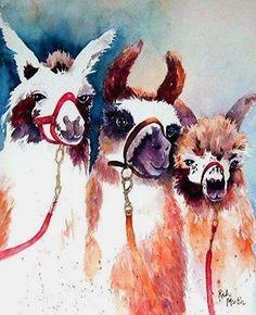 "3 Llamas by Ulrike ""Ricky"" Martin"