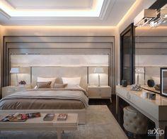Фото Дом в г Ярославль 260 кв. м. Спальня хозяев. - интерьеры, квартира, дом, спальня, ар-деко, 30 - 50 м2, средний