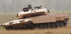 German Company IBD presents evolution concept for MBT122 tank and ...