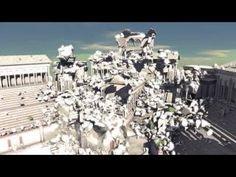 Nvidia - Massive Destruction in Real-Time Tech Demo - YouTube