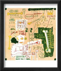 Carbon dating System Versus Scratchproof Tape, 1982 Jean-Michel Basquiat