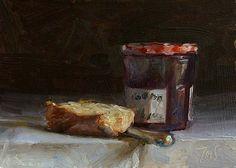 Bon Maman A Daily painting by Julian Merrow-Smith