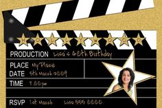 Personalised themed kids childrens adults birthday party invitations 1st 10th 18th 21st 30th 40th 50th 60th 70th
