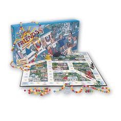 """Circle of Friends Board Game- Kids learn friendship-building skills such as listening, patience, paying attention, and how to deal with various friendship issues such as teasing, bullies, jealousy, anger, and more. This game features a """"small town"""" board where the friends live and socialize. The players are asked questions, and with the right answer, acquire new friends and Pop-it beads. When enough beads are collected to form a """"circle of friends"""" around all players, everyone wins!"""