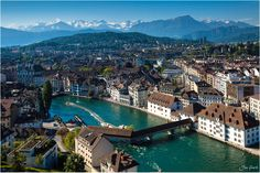 City in the Alps - Lucerne,