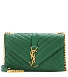 Saint We Monogram the Classic love bag leather Laurent shoulder rich soft leather ffSqO1w