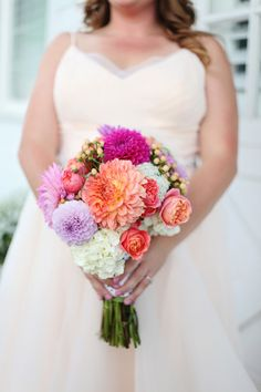 #Bouquet | Photography: Colleen Kerns | See the wedding on #SMP Weddings: http://www.stylemepretty.com/oregon-weddings/west-linn/2013/12/05/oregon-winery-wedding-from-colleen-kerns/