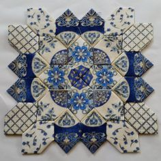 #Lucy Boston#patchworkofthecrosses#englishpaperpiecing