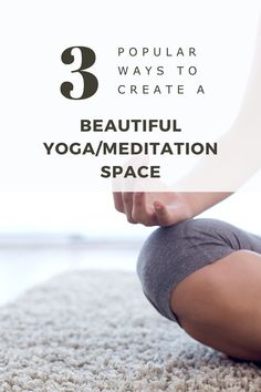 What if you had a comfortable, personalized space, dedicated to your meditation or yoga practice and nothing else? Find cute decor and comfortable cushions/mats for practicing yoga and/or meditation. Personalized home decor, relaxing area in your home, how to set up a yoga or meditation area for beginners! Meditation Space, Yoga Meditation, Your Freedom, Finding Peace, Mindfulness, In This Moment, Awareness Ribbons