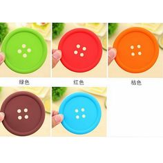 1XSilicone Coffee Placemat Button Coaster Cup Mug Glass Beverage Holder Pad Mat #>=#>=#>=#>=#> Click on the pin to check out discount price, color, size, shipping, etc. Save and like it!