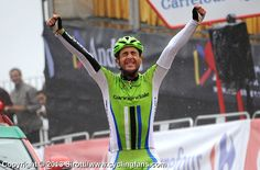I feel it's an almost workable rule of thumb that the rider who celebrates his win with gusto is NOT on gear. brilliant win yesterday by Danielle Ratto 2013 Vuelta a Espana LIVE   www.cyclingfans.com