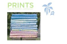 Blue Ginger Batik Prints (lots of pretty pastels and super cute baby blankets)