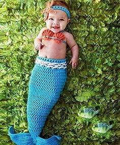 These Mermaid Crochet Projects feature lots of free patterns and you are going to love this collection. Check out the Mermaid Tail Blankets too!