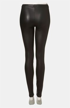 Topshop Faux Leather Leggings | Nordstrom