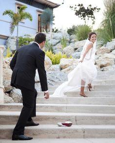 Precioso foto de #boda de Cenicienta! / Stunning Cinderella #wedding photo!