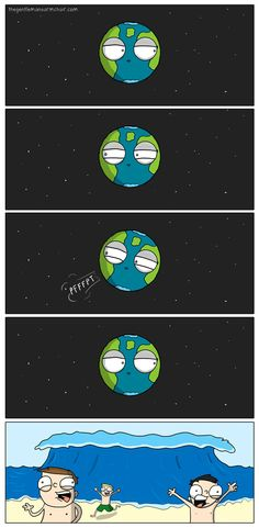 Tsunamis. #humor #risa #graciosas #chistosas #divertidas