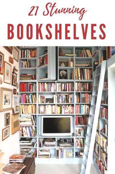 bookshelves unique bookshelves home libraries diy classic simple_c