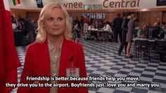 parks and recreation meet greet quotes on love
