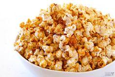 Taco Popcorn With Coconut Oil, Popcorn Kernels, Taco Seasoning, Salt, Melted Butter