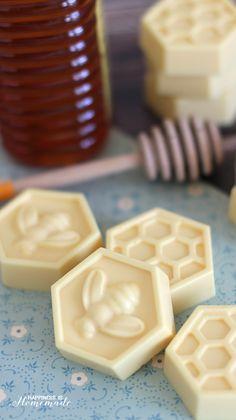 10-Minute DIY Milk & Honey Soap - Happiness is Homemade