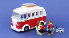 Camper Van Forever. Another LEGO CUUSOO entry. Love the inclusion of a retro transistor radio too.