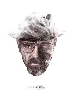 Heisenberg by Malobi Justin Maller, Polygon Art, New Media Art, Heisenberg, Mother Of Dragons, Graphic Art, Graphic Design, Low Poly, Types Of Art