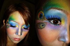 #Pinterest Peacock Makeup