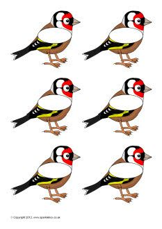 Pupil self-registration goldfinches (SB8389) - SparkleBox