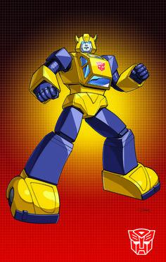 Autobot Bumblebee G1 by Dan-the-artguy.deviantart.com on @deviantART